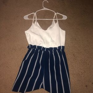 brand new romper! never worn with tags